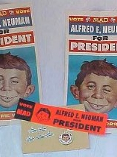 Go to Kit 'Alfred E. Neuman for President' 1968 • USA