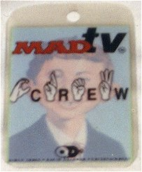 Pass Backstage Crew MAD TV • USA