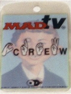 Pass Backstage Crew MAD TV • USA