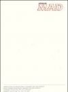 Image of Stationery MAD Office Letterhead