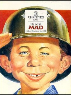 Auction Catalog 'Christie's East MAD Art Auction' • USA