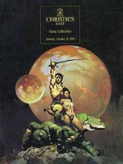 Auction Catalog 'Christie's East Comic Art Auction' • USA