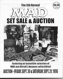 Auction Catalog 'The 5th Annual Set Sale & Auction' • USA
