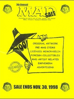Auction Catalog 'The 7th Annual Set Sale & Auction' • USA