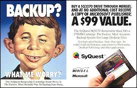 SyQuest Sales Postcard • USA