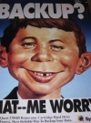 SyQuest Technology Promotional Poster w/ Alfred E. Neuman