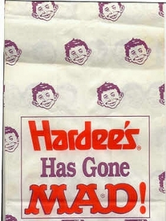 Go to Hardee's Gone MAD Take-out Bag • USA