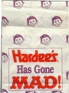 Image of Hardee's Gone MAD Take-out Bag