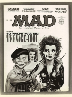 Go to Press Release Nina Hagen on MAD Magazine cover • Germany