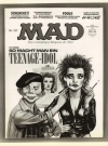 Image of Press Release Nina Hagen on MAD Magazine cover