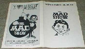 Show Program #1 The MAD Show • USA
