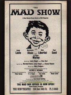 Go to Show Program #2 The MAD Show
