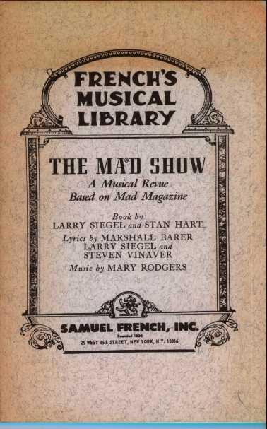 Script The MAD Show • USA