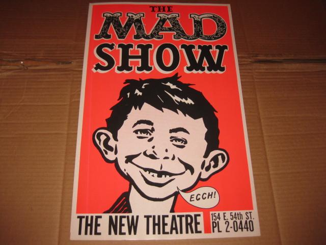 Theatre Display Sign The MAD Show • USA