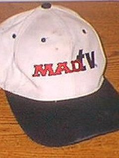 Go to Baseball Cap worn by MAD TV Crew, white