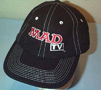 Baseball Cap Black Mesh MAD TV Crew • USA