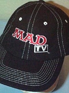 Go to Baseball Cap Black Mesh MAD TV Crew