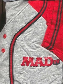 Go to Baseball Jersey MAD TV • USA