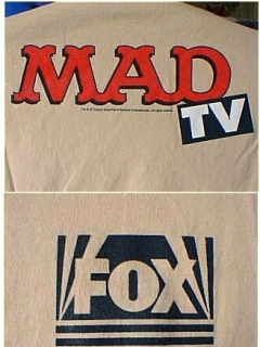 T-Shirt MAD TV Promotional #1 • USA