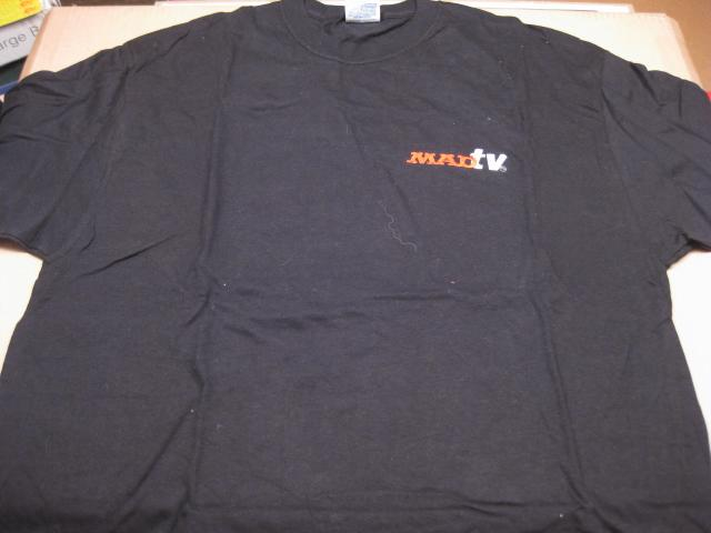 'MAD TV' Show - Black T-Shirt Cast & Crew • USA