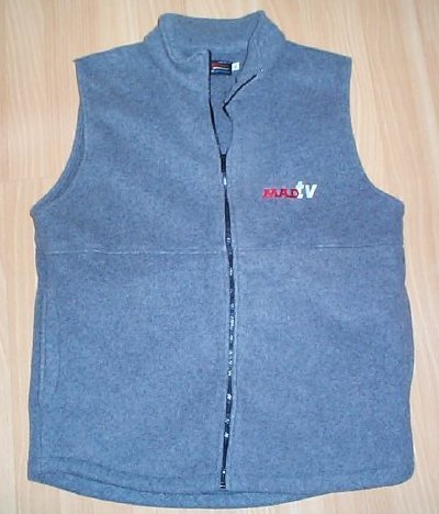 Fleece Vest MAD TV • USA
