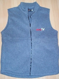 Go to Fleece Vest MAD TV • USA