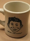 Image of MAD Magazine / MAD TV / Alfred E. Neuman Coffee Mug