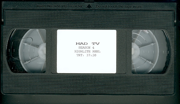 'MAD TV' Show - VHS Tape Highlight Reel • USA