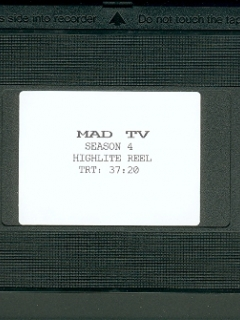 Go to VHS Tape MAD TV Highlight Reel