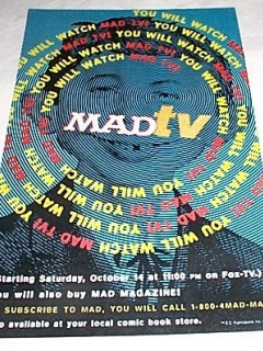 Go to Poster Promotional MAD TV • USA