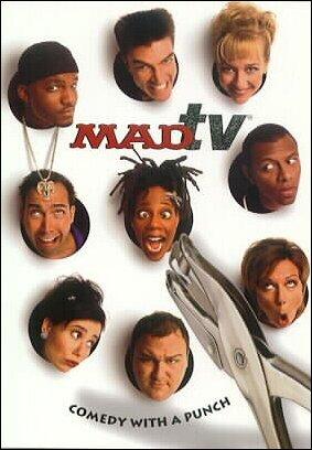 Postcard with MAD TV Cast Photos • USA