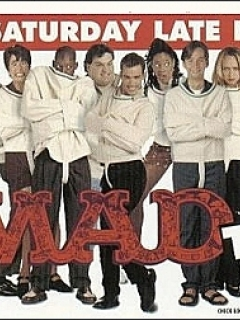 Postcard with MAD TV Cast Photos #2 • USA