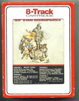 Soundtrack 8 Track Tape 'Up the Academy' Movie • USA