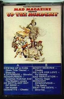 Soundtrack Cassette Tape 'Up the Academy' Movie • USA