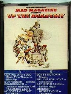 Go to Soundtrack Cassette Tape 'Up the Academy' Movie • USA