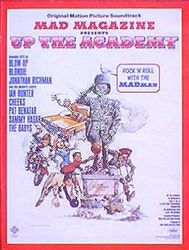 Soundtrack Ad Billboard Magazine 'Up the Academy' Movie • USA