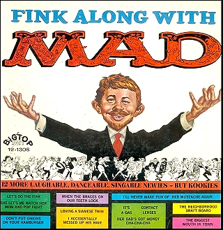 Record 'Fink Along with MAD' • USA