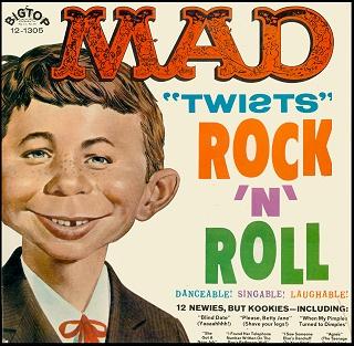 Record 'MAD Twists Rock'N'Roll' • USA