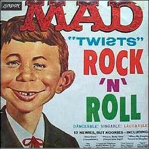 Record 'MAD Twists Rock'N'Roll' (London Version) • Australia