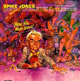 LP Spike Jones with Jack Davis Cover Art • USA