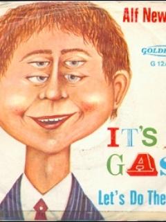 Go to Record 45 RPM 'It's a Gas / Let's do the Fink' • USA