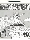 Image of Record 45 RPM 'The Board Walkers' with Spy vs Spy Cover
