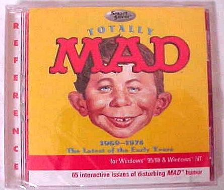 CD Sampler 'Totally MAD' • USA