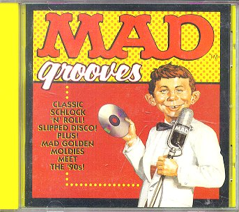 Music CD 'MAD Grooves' • USA