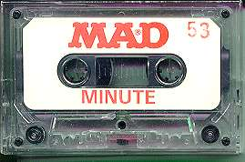 Cassette Tapes 'MAD Minutes' • USA
