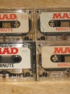 Image of MAD Minutes Cassette Tapes