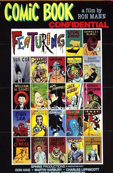 VHS Tape 'Comic Book Confidential' • USA