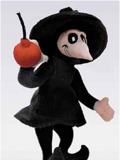 Go to Plush Toy Black Spy vs Spy • USA