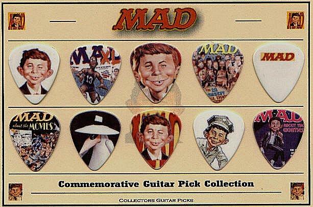 Guitar Picks MAD Character • USA