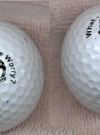 Image of Golf Balls with Alfred E. Neuman Face